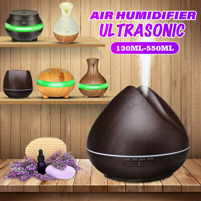 AU9.49 • Buy LED Ultrasonic Essential Oil Diffuser Aroma Aromatherapy Air Humidifier Purifier