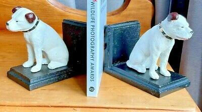 £24.99 • Buy Nipper The HMV Dog Bookends - Reproductions Of 1920's Original