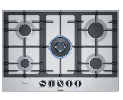 £479 • Buy HOB BOSCH Serie 6 PCQ7A5B90 Gas Hob - Stainless Steel New Warranty SALE SALE