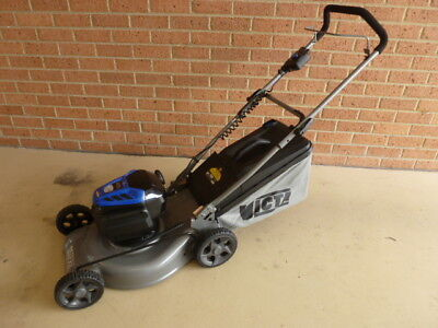 AU449 • Buy Victa 82V Cordless/Battery Mower DEMO 18  Mulch & Catch, 2Ah Battery & Charger