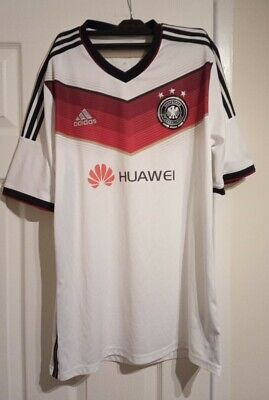 £14.99 • Buy Germany National Team Football Shirt 2014 Unofficial Adidas Size Large