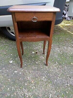 £85 • Buy Vintage French Bedside Cabinet Cupboard Table