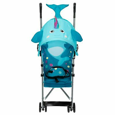 AU47.15 • Buy Umbrella Stroller Toddler Narwhal Up To 40 Lbs. With Canopy Lightweight Compact