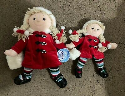 """£20 • Buy TESCO 2003 Chilly And Friends Emily X2 - 13"""" And 9"""""""