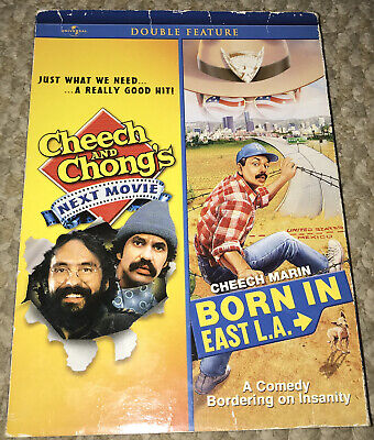 £3.84 • Buy Cheech And Chong's Next Movie / Born In East L.A. Double Feature [DVD]