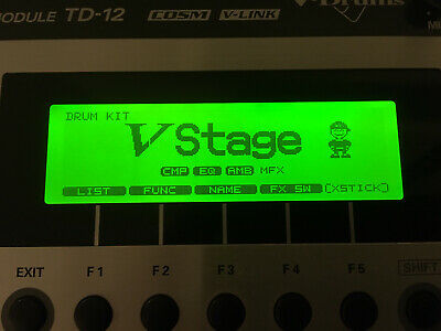 AU689.78 • Buy Roland V-Drums TD-12 Drum Module With Power And Mount. TD12