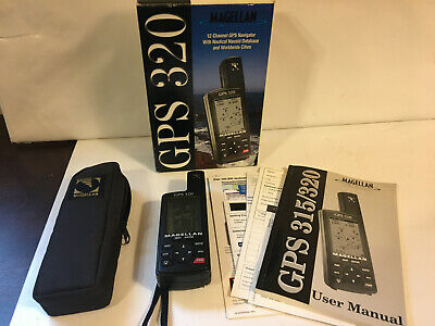 £22.51 • Buy Magellan GPS 320 12 Channel Navigator, With Carry Case, Box, Instructions