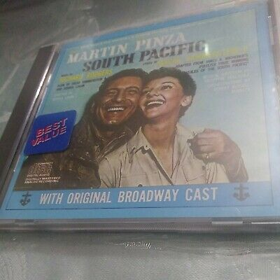£3.77 • Buy SOUTH PACIFIC Richard RODGERS  HAMMERSTEIN ORIGINAL Broadway CAST Cd
