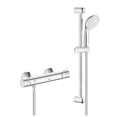 £109.95 • Buy GROHE  | Grohtherm 800 Thermostatic Shower Set -34565001
