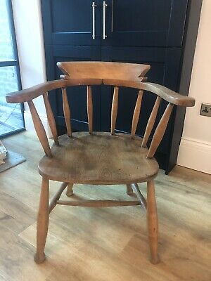 £60 • Buy Solid Pine Captains Chair