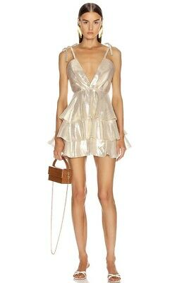 AU220 • Buy Alice McCall Astral Plane Mini Dress Size 8 New With Tags