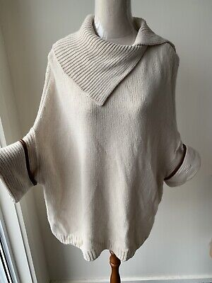 AU45 • Buy MASSIMO DUTTI Women's Wool Blend JUMPER Size EUR Small Excellent Condition