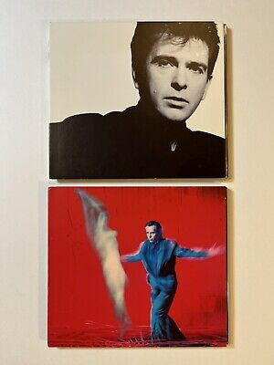 £12.31 • Buy Two 2002 Peter Gabriel Limited Edition Remastered Promo CDs So And Us 00010