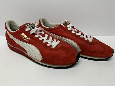 AU53.34 • Buy Puma Whirlwind Classic Retro Running Shoes Sneakers Men Size US 9.5 Red White
