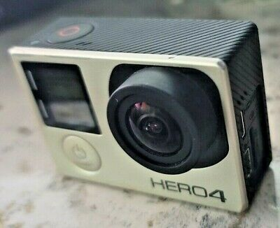 AU107.74 • Buy GoPro HERO 4 Silver Action Camera W/ Waterproof Housing, Battery, Charger & More