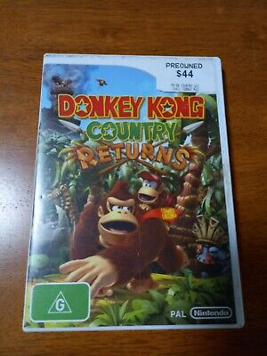 AU15 • Buy Donkey Kong Country Returns (Wii, 2010)