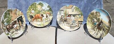 £4 • Buy Decorative Wedgwood Plates * 4 From The  Life On The Farm  Series Plates 5 - 8