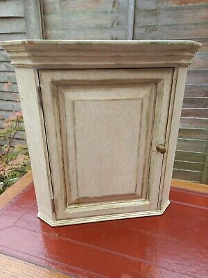 £55 • Buy Vintage Upcycled Pine Shabby Chic Corner Unit/Display Cabinet Cupboard