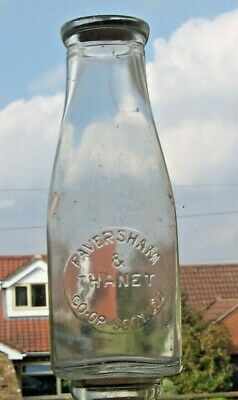 £17 • Buy Pint Wide-necked Milk Bottle From FAVERSHAM & THANET CO-OP.