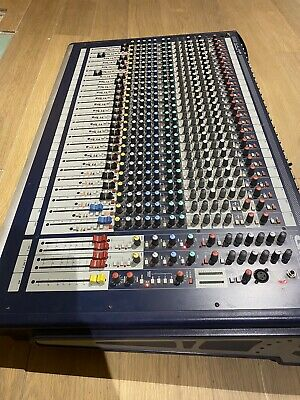 £600 • Buy Soundcraft GB2 24 Channel Mixing Console