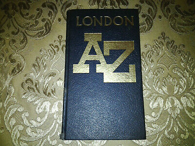 £15 • Buy Vintage Geographer's Map A-Z London Streets Guide Book