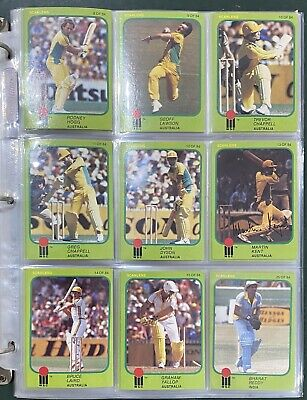 AU295 • Buy 1981 World Series Cricket Card Set With Signed Cards