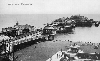 £2.10 • Buy Topographical Brighton West Sussex West Pier
