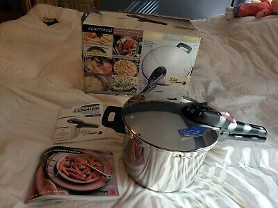 £58.07 • Buy New Fagor Commercial Pressure Cooker Vitro Induction Gas/electric In Box, NIB
