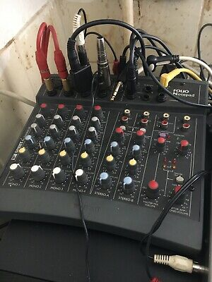 £8 • Buy SOUNDCRAFT Folio Notepad 8 Ch Compact Mixer - Good Condition