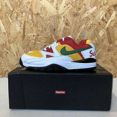 £190 • Buy Supreme X Nike Cross Trainer Low, White, Size Uk 8/Us 9 Confirmed Order