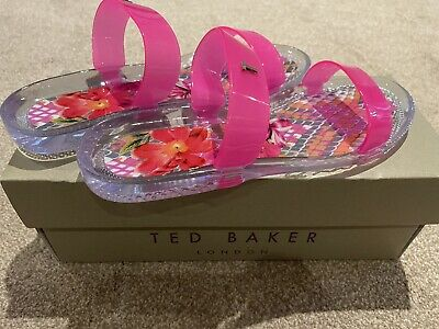 £10 • Buy Ted Baker Sandals Flip Flops Size 5 BNWT And Box