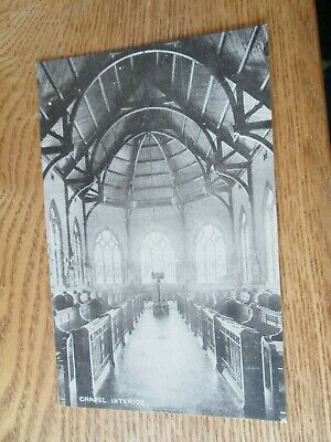 £0.60 • Buy Postcard Mostyn House School, Parkgate, Cheshire, Chapel Interior (Unposted)