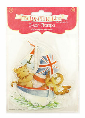 £1.49 • Buy Helz Cuppleditch Clear Stamp - The London Line 'Sail Away'