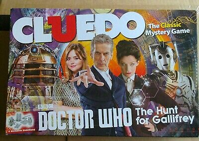 £10 • Buy Doctor Who Cluedo The Hunt For Gallifrey
