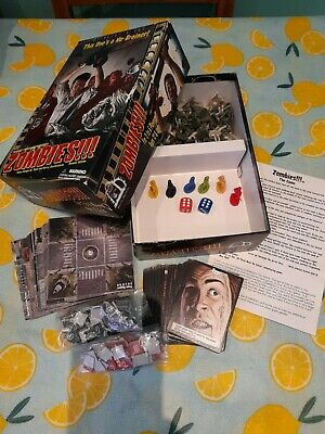 £3.50 • Buy Zombies!!! Director's Cut Second Edition Board Game Fully Complete
