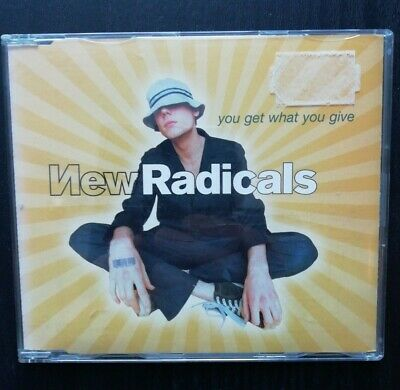 £0.85 • Buy  New Radicals : You Get What You Give - CD Single (1999, MCA)
