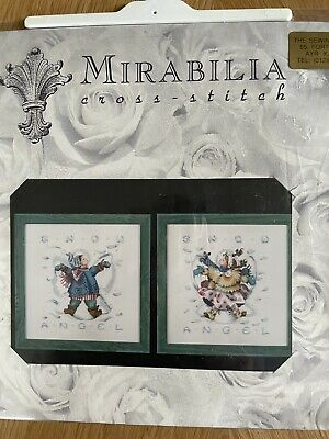 """£6.99 • Buy Mirabilia Cross Stitch Chart """"Giggles In The Snow"""""""