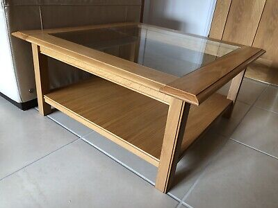 £50 • Buy Fabulous Large Oak Coffee Table From Marks & Spencer In Vgc