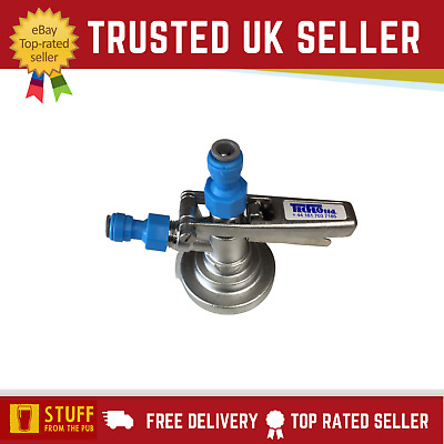 £35.95 • Buy Grundy Keg Coupler G-Type With 2x 3/8 Push-Fit - Beer Lager Carling Coors