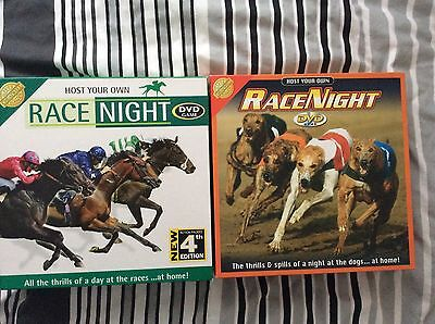 £8.45 • Buy Race Night 4 DVD Game Host Your Own Race Horse/dogs (DVD Only)
