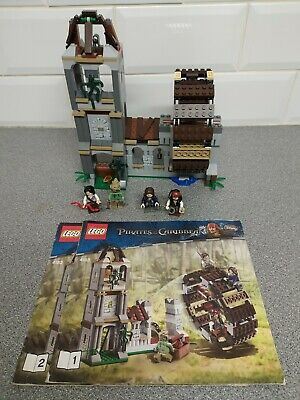 £69.95 • Buy Lego Pirates Of The Caribbean The Mill 4183 + Instructions
