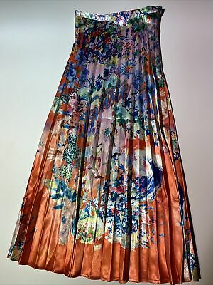 £20 • Buy H&M Orange And Pink Tropical Skirt Size 8 BNWT