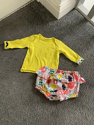 £15 • Buy Stella Mccartney Baby Girls Shorts And Top Outfit, Age 6 Months
