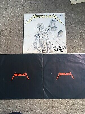 £5.99 • Buy Metallica 'And Justice For All' DLP & Inners 1988