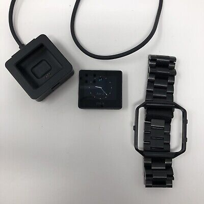 AU60.60 • Buy Fitbit Blaze FB502 Activity Tracker Large Metal Band With Charger- TESTED