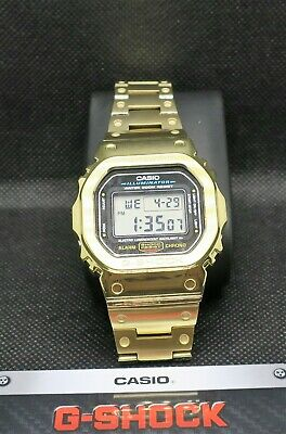 £101.30 • Buy Casio G-Shock Full Metal GMWB5000D-1 Gold(Case) With DW-5600E Internals .