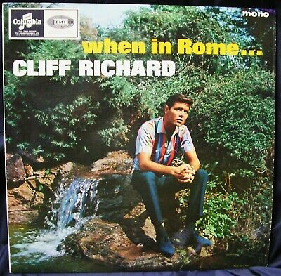 £12.90 • Buy Cliff Richard (& The Shadows) - When In Rome - Lp 1965 Columbia 33sx1762