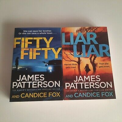 AU25.50 • Buy X2 James Patterson. Harriet Blue Thrillers - Large Size Format. LIKE NEW