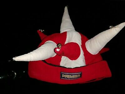 £2 • Buy Men Or Women's  Red White Novelty Jester Hat With Bells