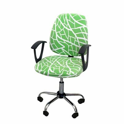AU15.95 • Buy 1set Arm Chair Cover Office Chair Cover Swivel Chair Seat Protector Slipcover